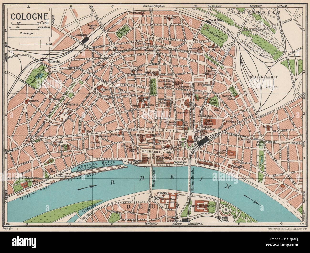 Köln Karte Deutschland.Stadtplan Köln Kaufen