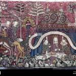 Bildende Kunst Gobelin Wandteppich Wandteppich Mit Dem Royal Feast 12 Jahrhundert Germanisches Nationalmuseum Nationalmuseum Fur Germanische Geschichte Nurnberg Stockfotografie Alamy