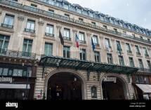 Intercontinental Paris Grand Hotel Stockfotos