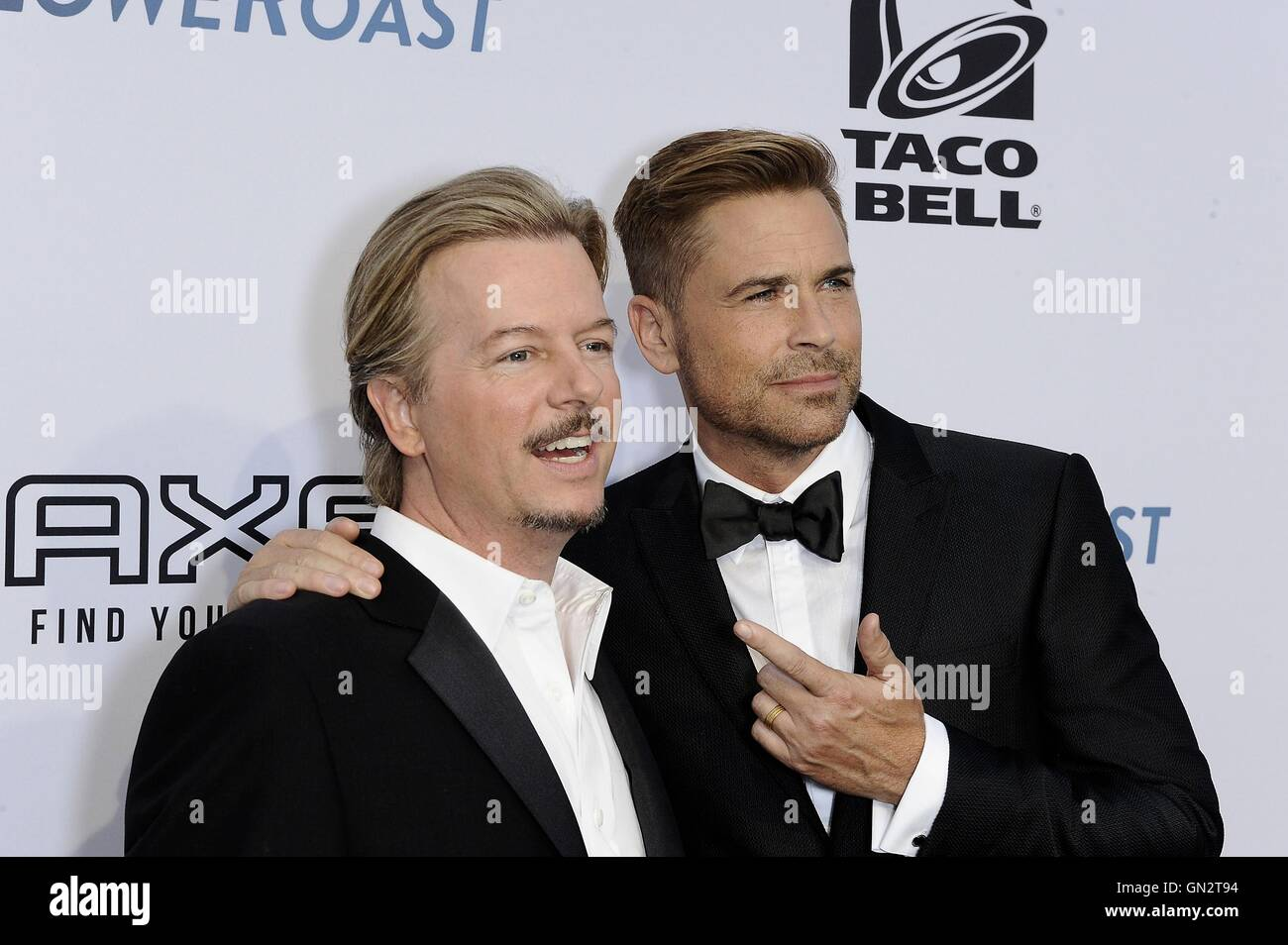 94 Prozent Bild Roter Teppich Los Angeles Ca Usa 27 August 2016 David Spade Rob