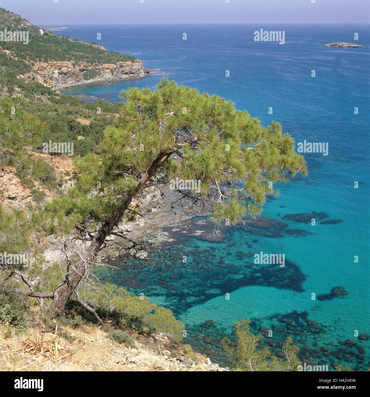 Zypern Griechisch Halbinsel Akamas Küste Chrysochou