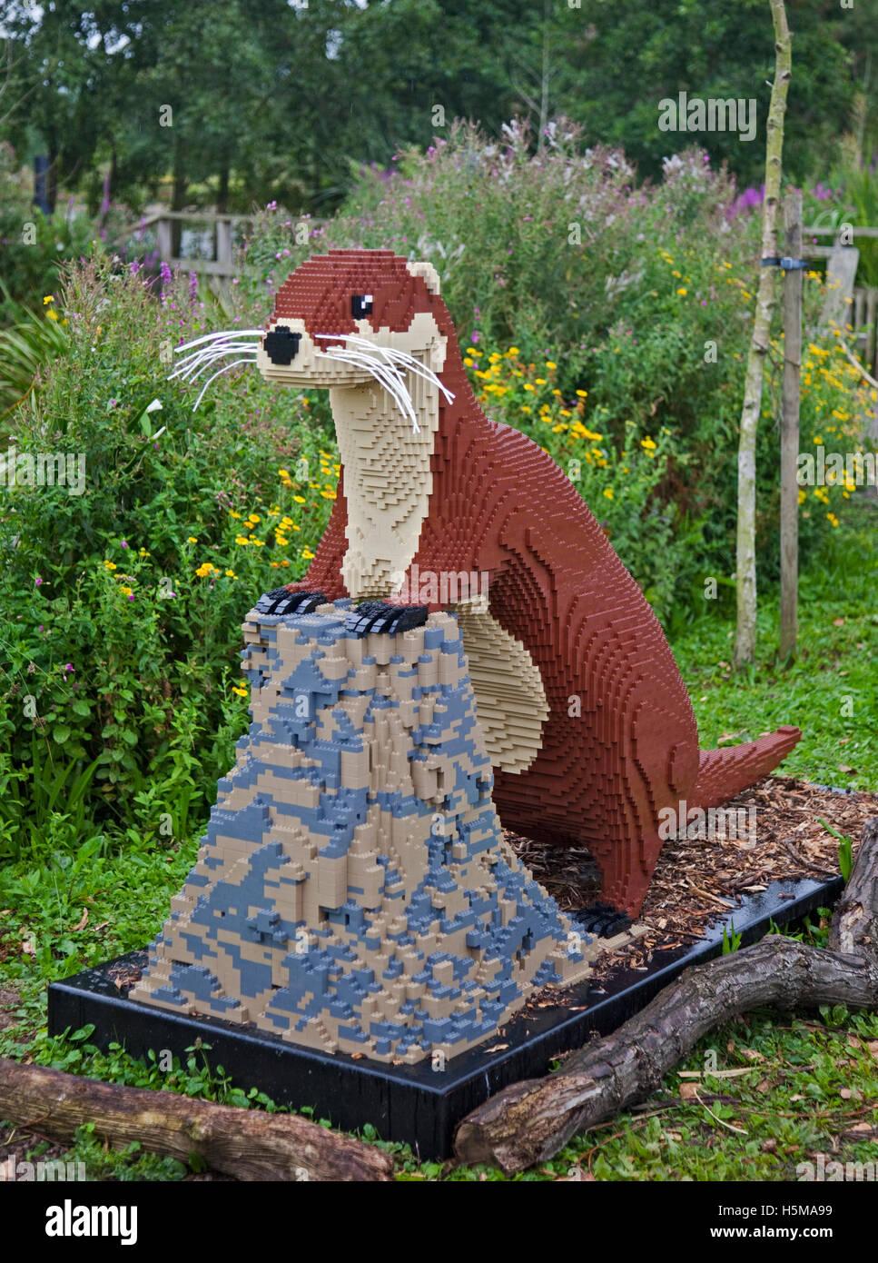 Mbel Aus Legosteinen Lottie Gebaut Der Otter Aus