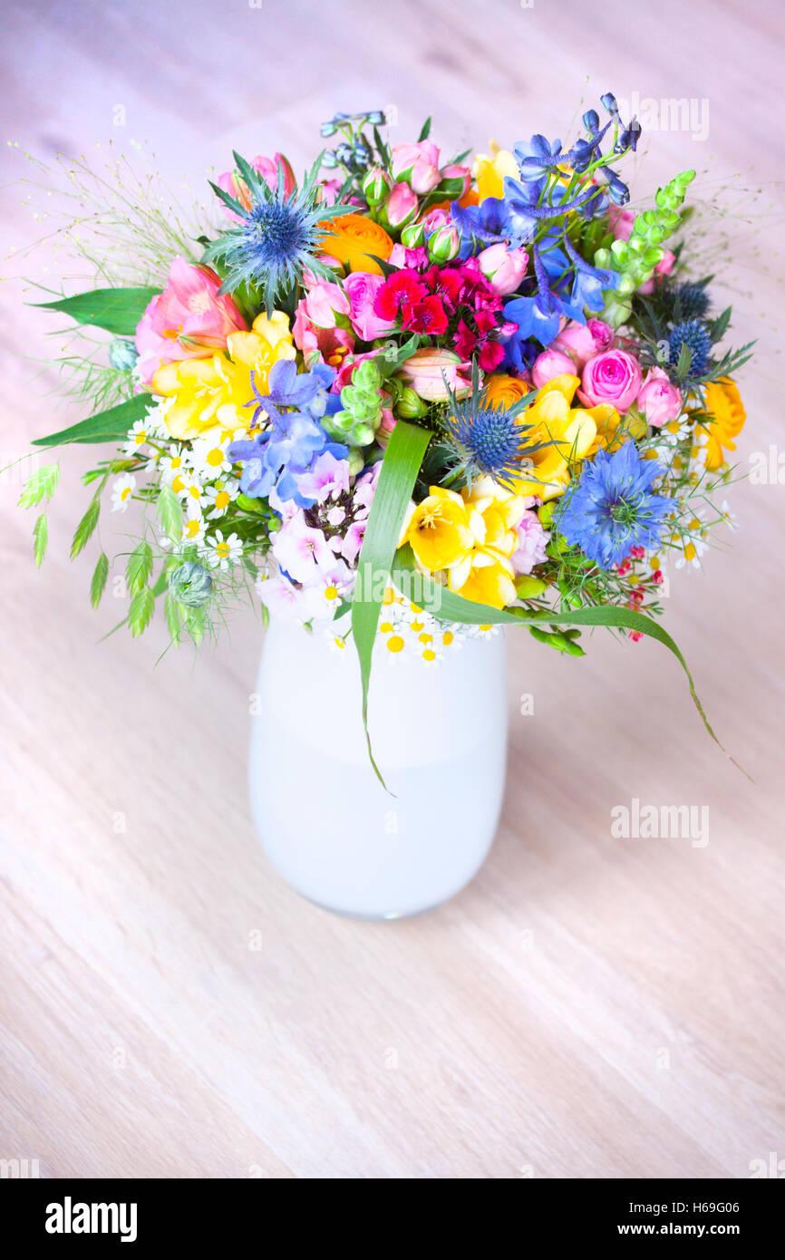 Blumenstrau Brautstrau Wildblumen Wildblumen bunte