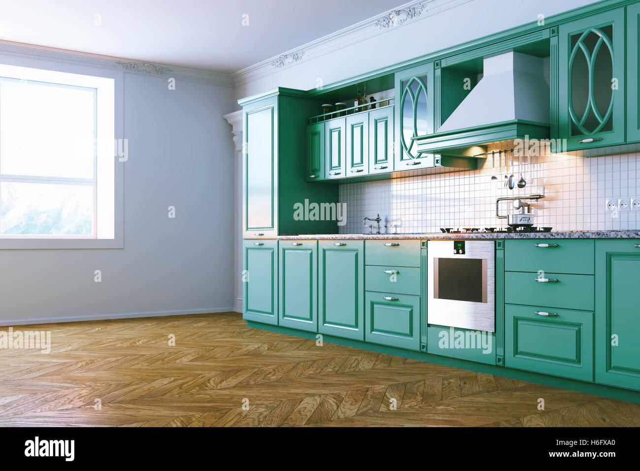 Blaue Kuche Modern Kuchen Modern Weis Mit Kochinsel 5 Elegant