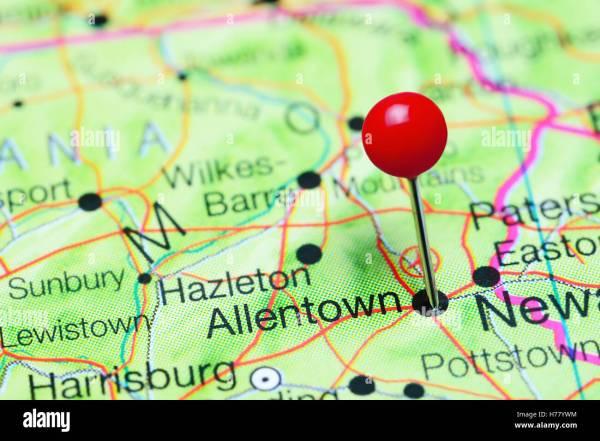 Allentown Pennsylvania Stockfotos &