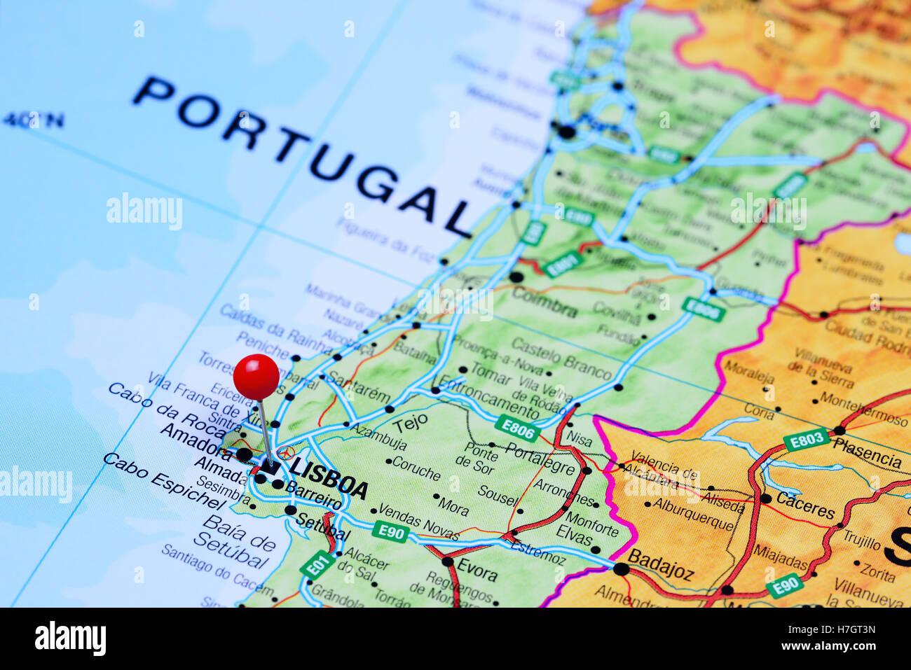 Porto Portugal Karte.Porto Portugal Landkarte