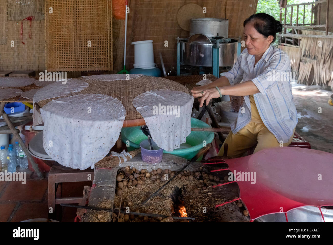 Mekong Thai Küche Reisnudeln Stockfotos And Reisnudeln Bilder Alamy