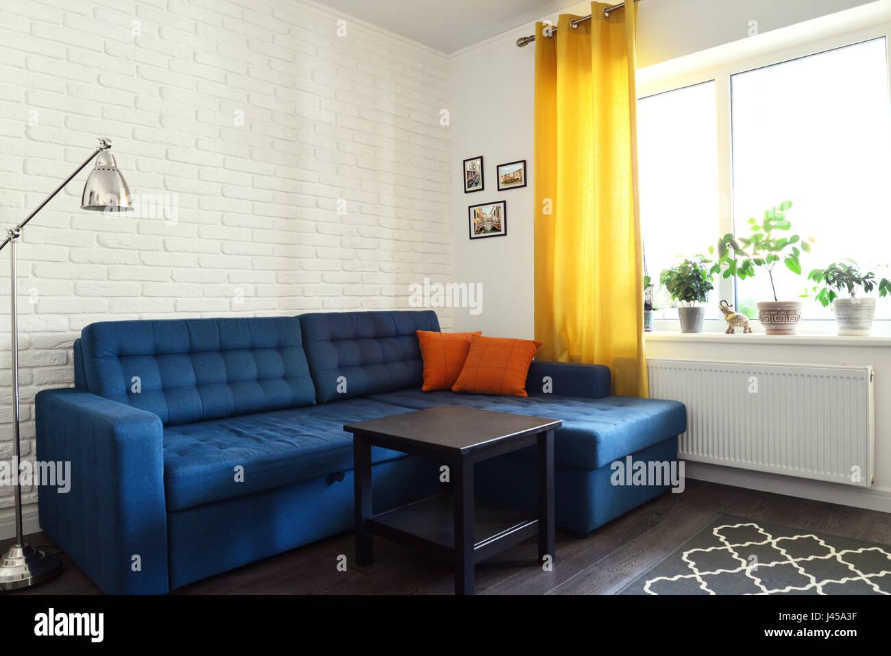 Blaue Couch With Blaue Couch Wohnzimmer Blaue Couch Und