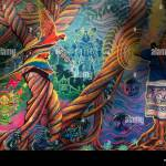 Ayahuasca Visionare Kunst In Pucalpa Peru Stockfotografie Alamy