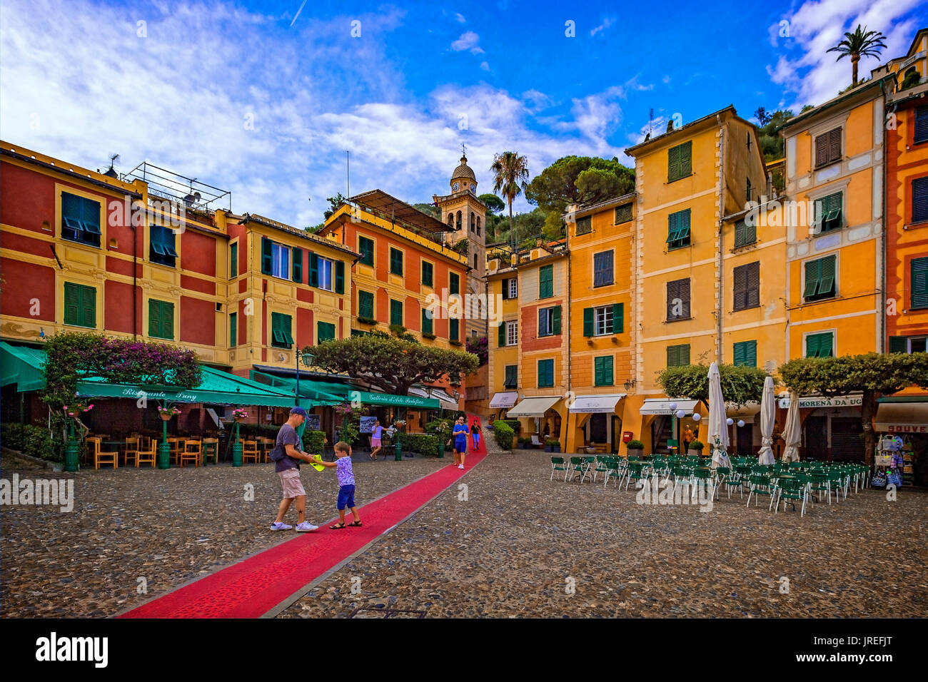 Roter Teppich In Portofino Roter Teppich Stockfotos And Roter Teppich Bilder Alamy