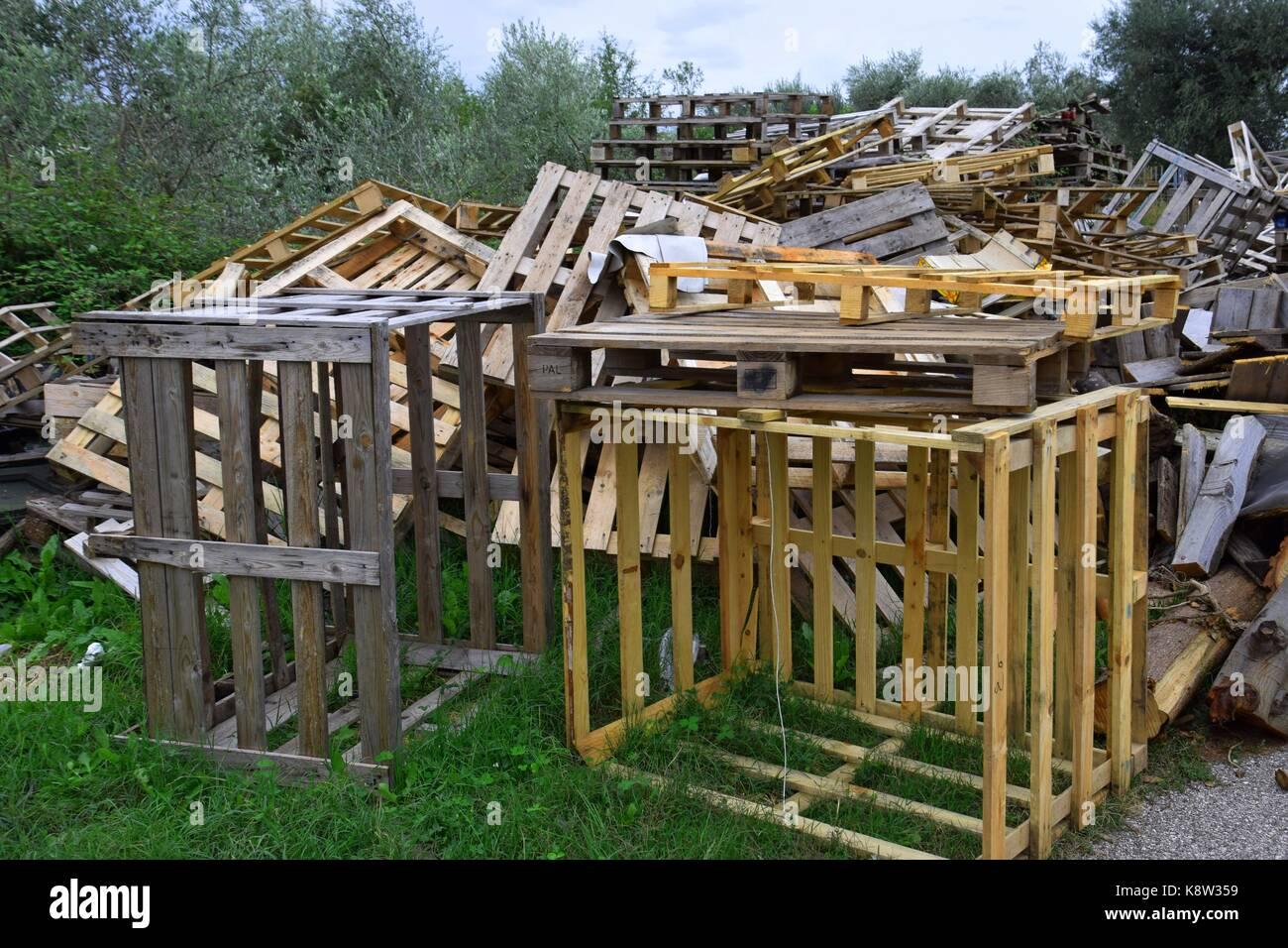 Brennholz Paletten Kaminholzregal Paletten