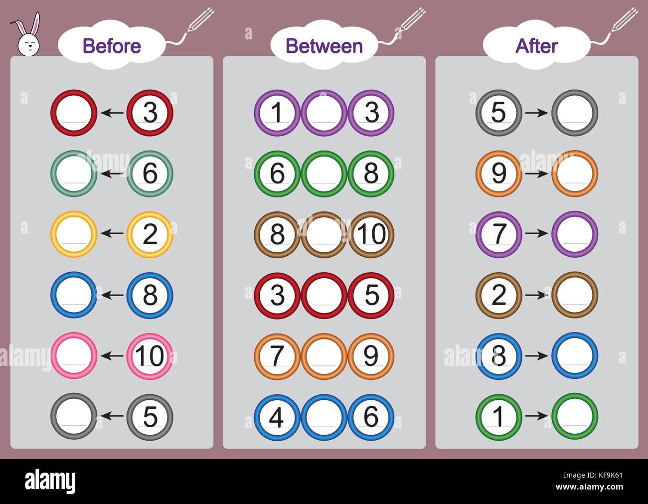 Was Kommt Vor Zwischen Und Nach Mathematik