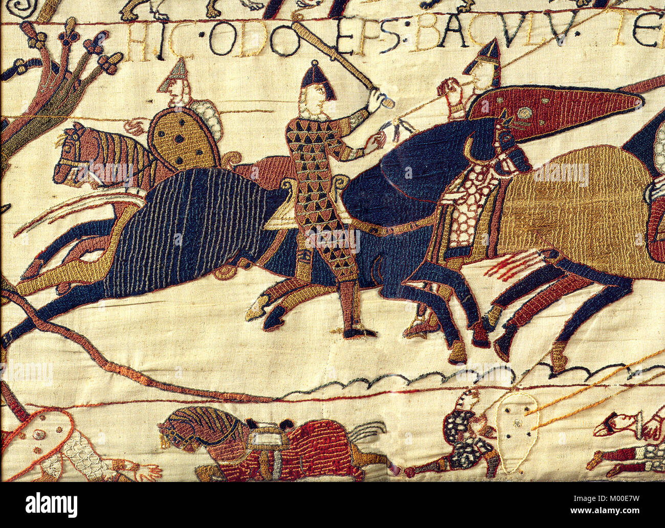 Teppich Von Bayeux Szenen Tapestry Stockfotos And Tapestry Bilder Alamy