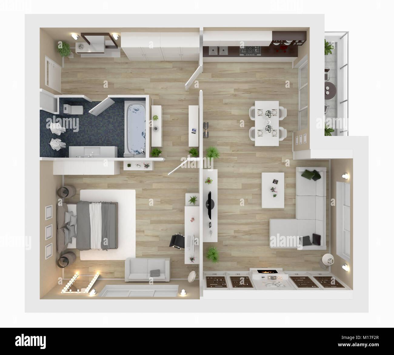 Feng Shui Schlafzimmer Grundriss