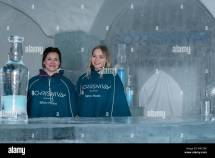 Ice Bar Norway Stockfotos & Bilder - Alamy