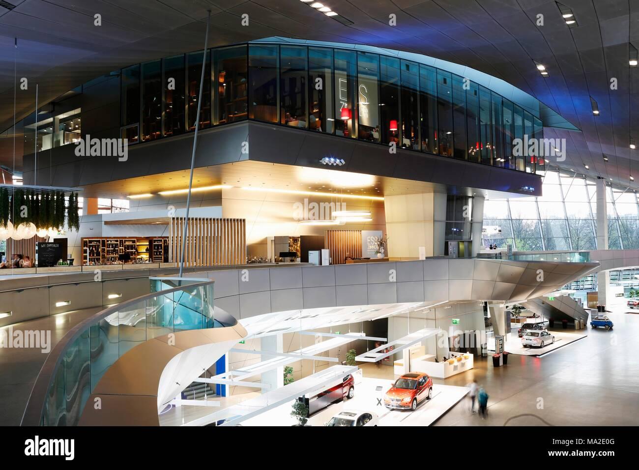 Das Gourmet Restaurant EssZimmer von Kfer in der BMW Welt
