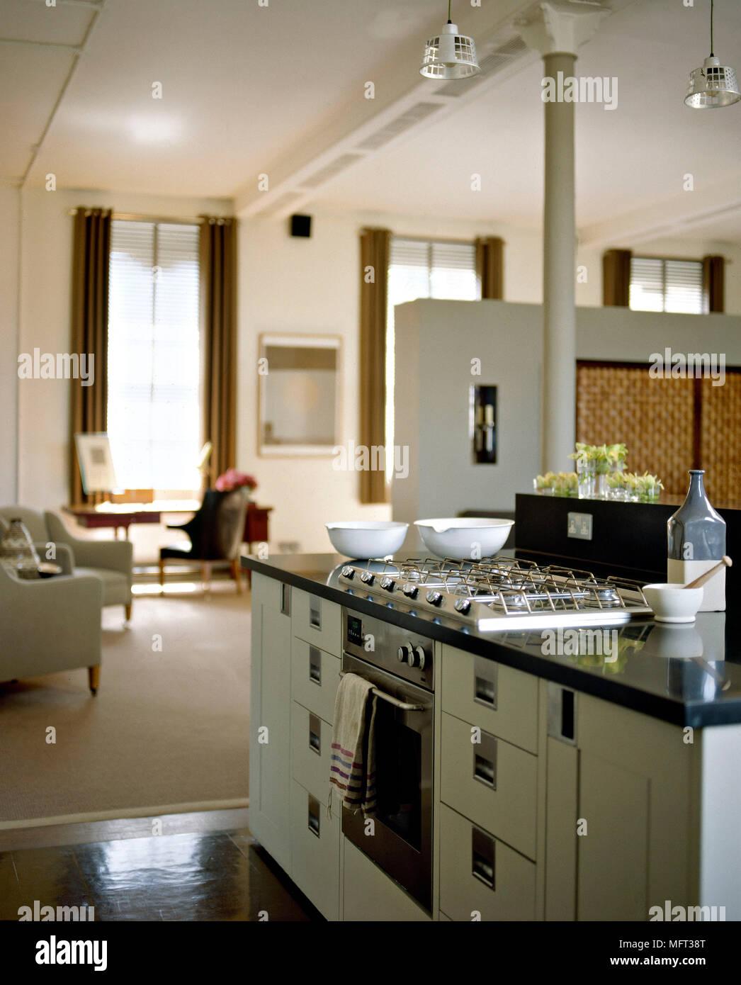 Modernes Wohnzimmer Offene Küche Grundriss Offene Küche Neu Fene