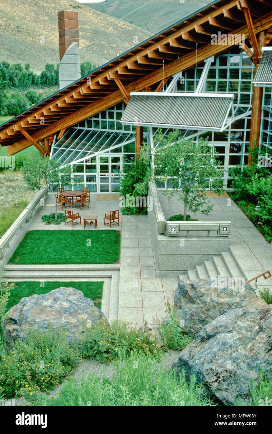 Rasen Auf Dachterrasse Terrasse Aus Paletten Selber Bauen