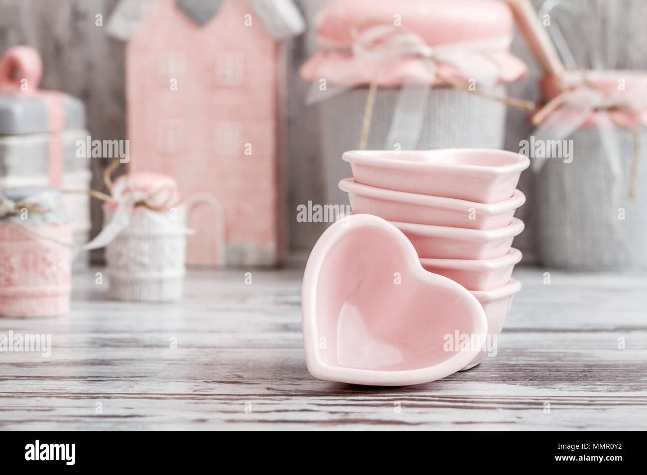 Pinke Kuchenutensilien Ausgefallene Gartendeko Selber Machen Aus