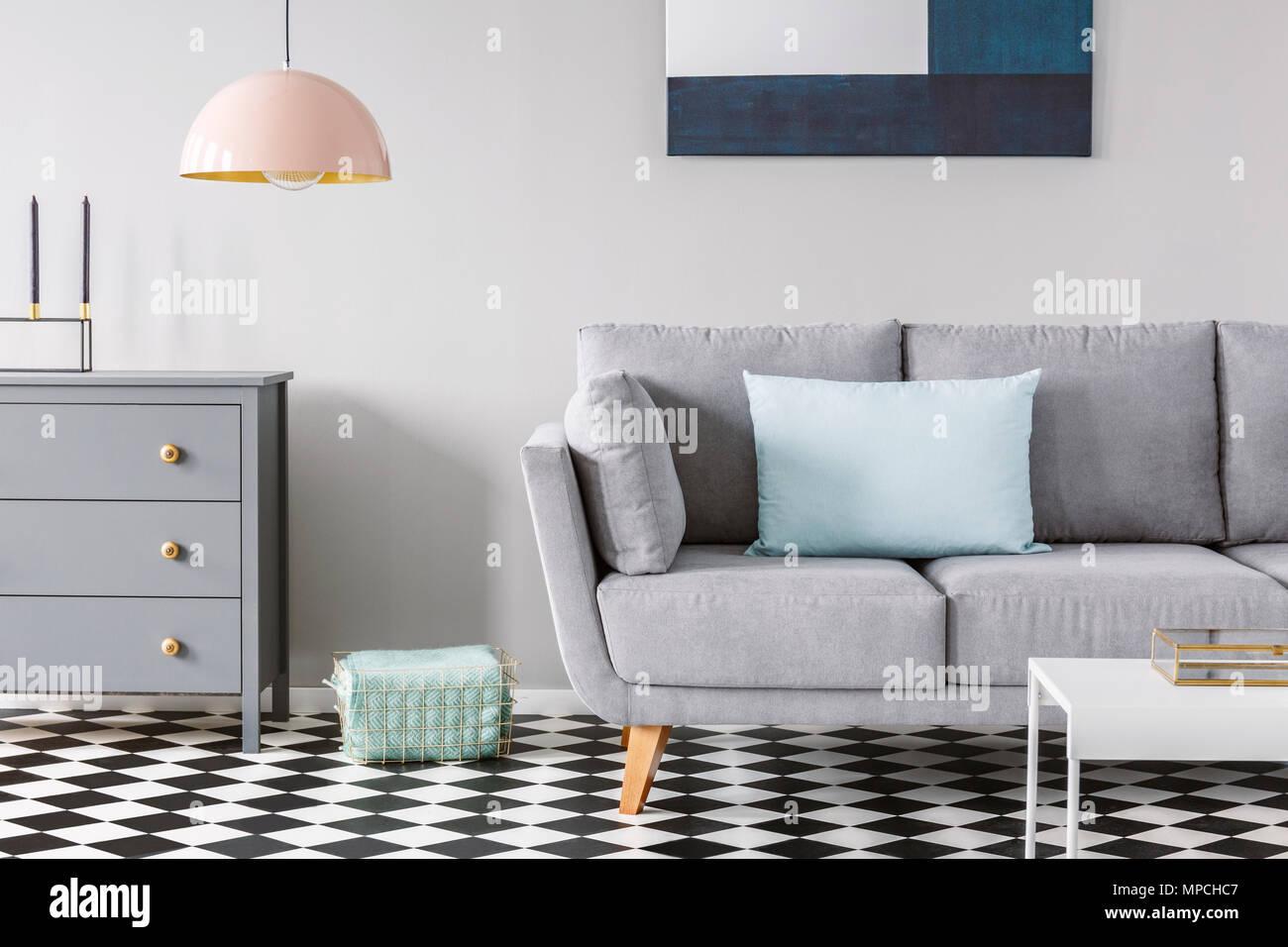 Wohnzimmer Gestalten Grauer Boden