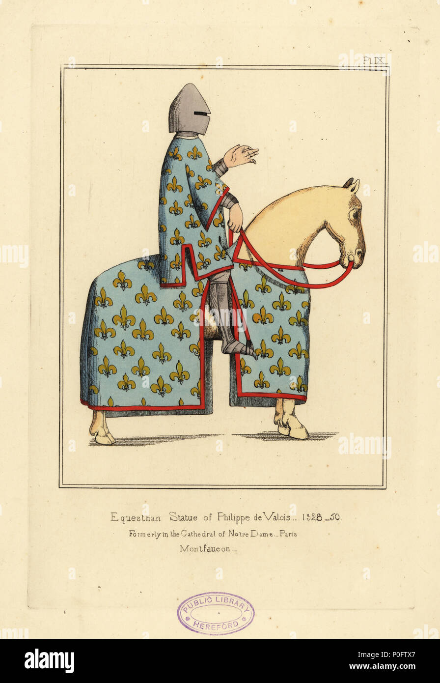 Teppich Von Bayeux Robin Hood Illustrations Of Mediaeval Costume In England Stockfotos