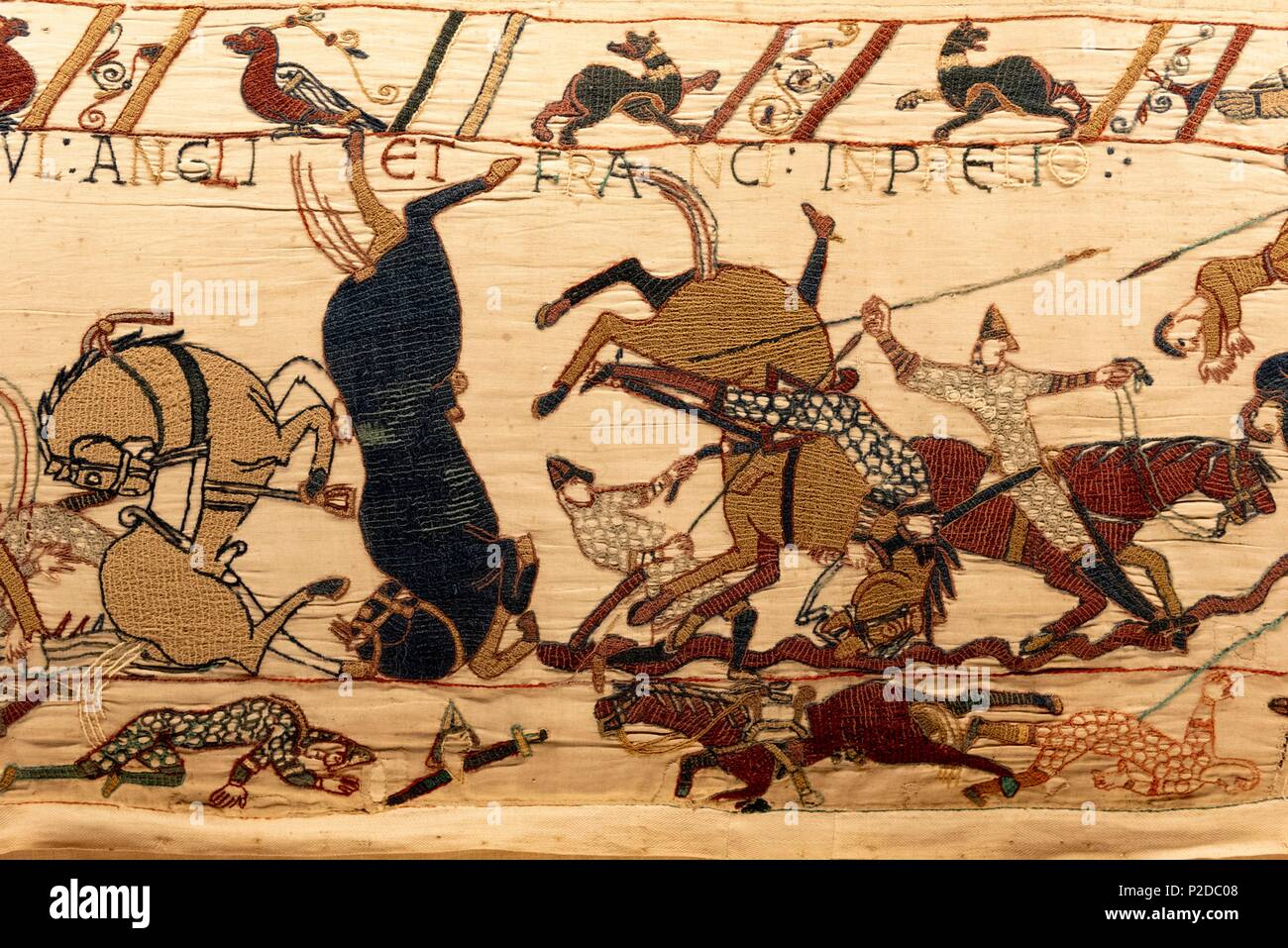 Teppich Von Bayeux Bilder The Bayeux Tapestry French Stockfotos And The Bayeux