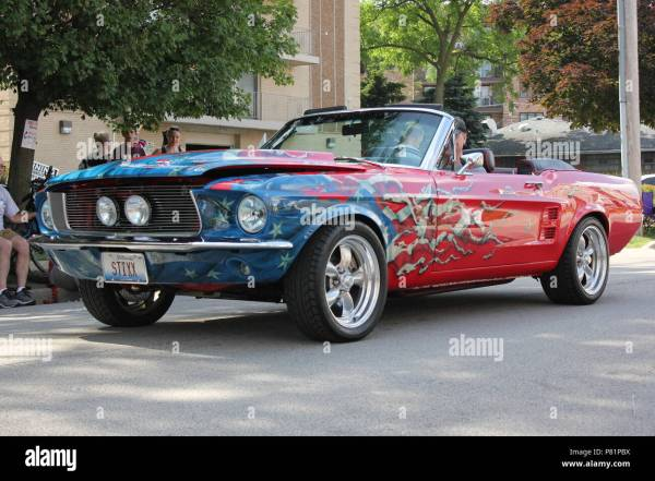 Ford Mustang Custom Paint Jobs Ford Mustang 2019