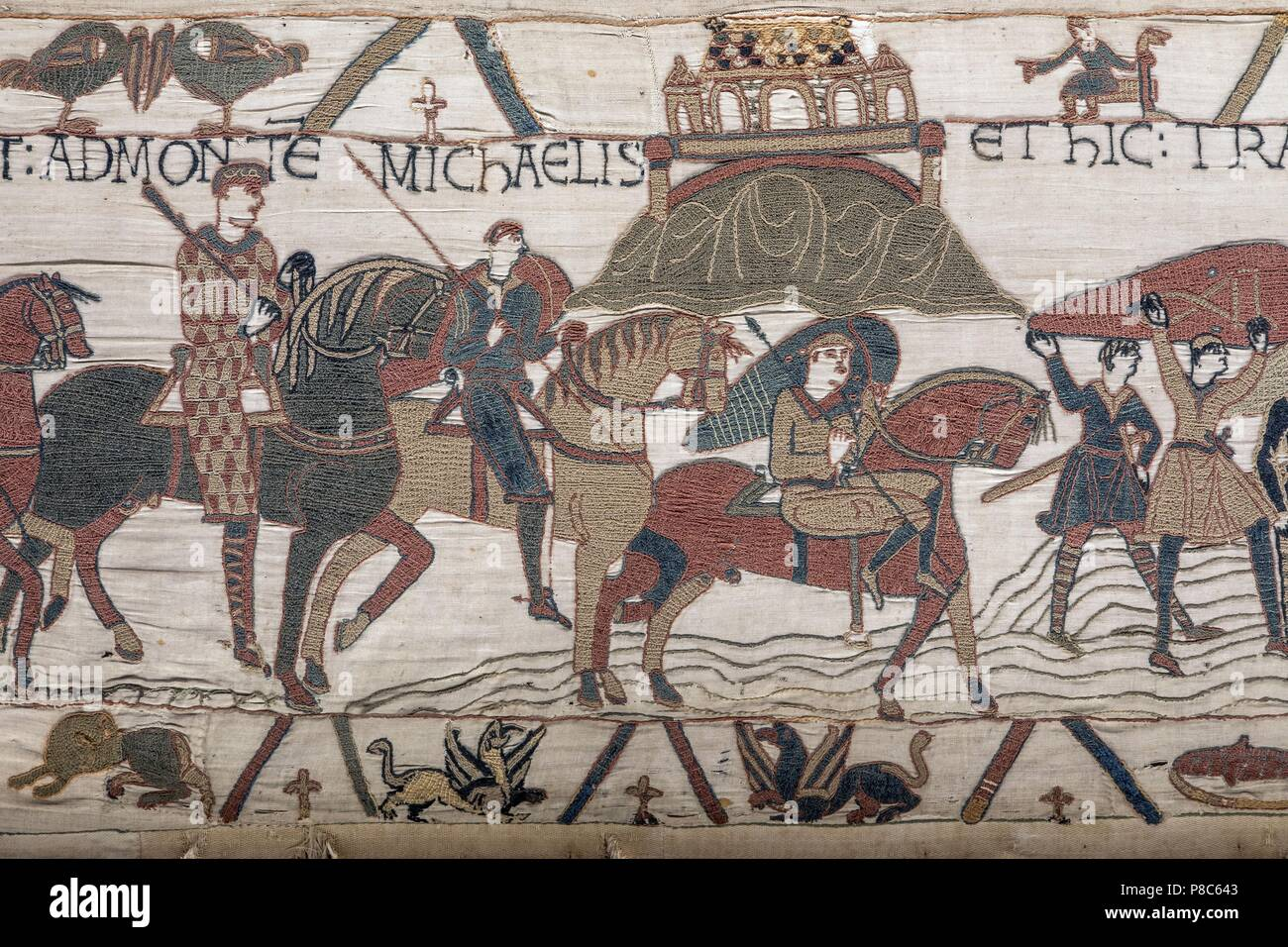 Bayeux Teppich France Normandie Calvados Bayeux Bayeux Tapestry