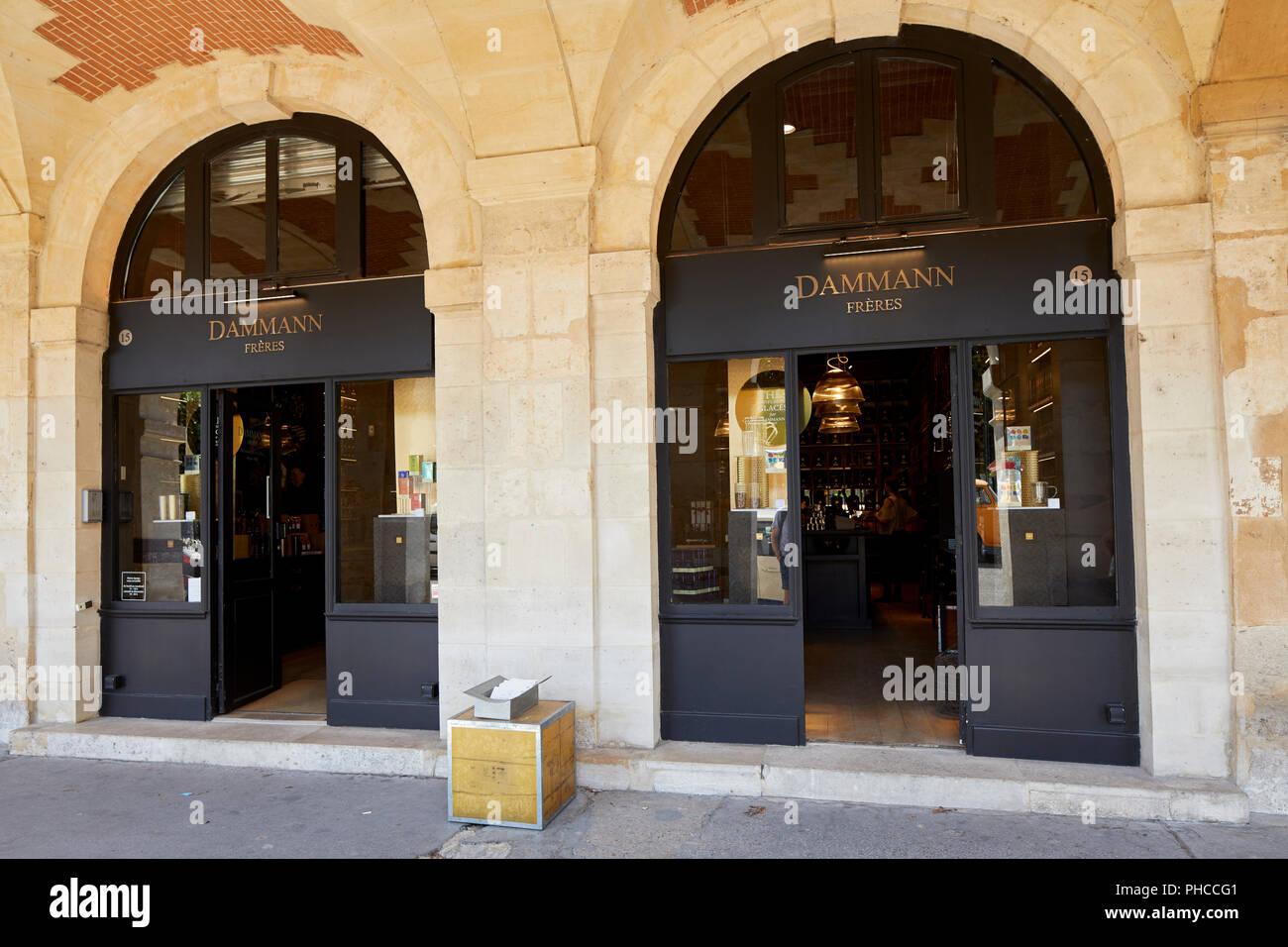 pariser teeladen stockfotos und bilder