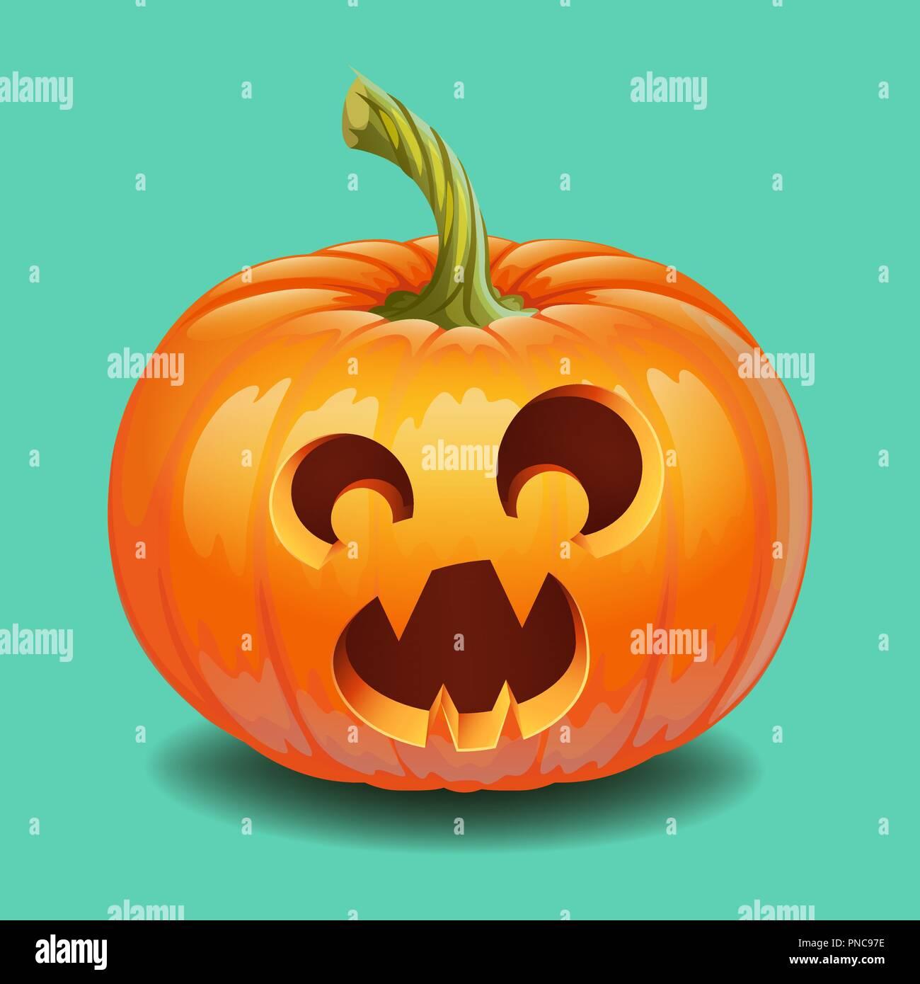 Beliebt Halloween Kürbis Lustig   Happy Halloween Kürbis Grimasse Lustige ZC61