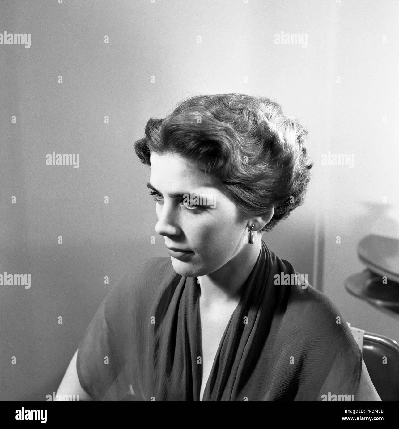 Damen Frisuren Der 50er Jahre