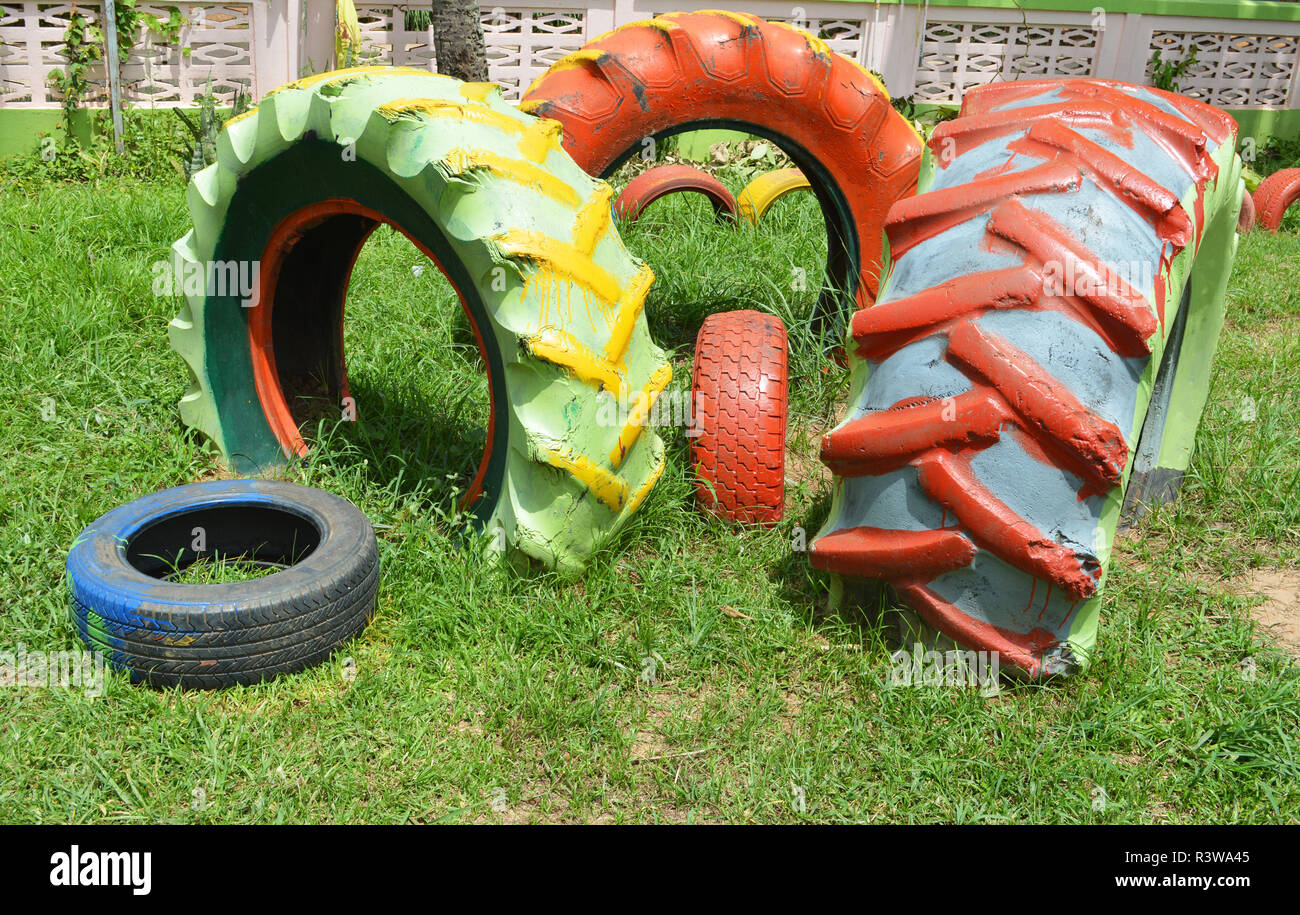 Colorful Tires Stockfotos & Colorful Tires Bilder - Alamy