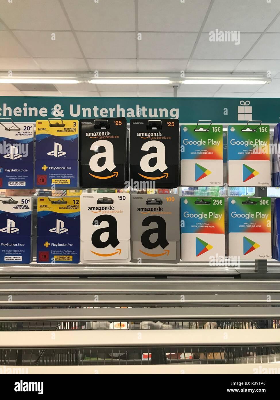 Berlin Deutschland 28 Juni 2018 Amazon Gutscheine
