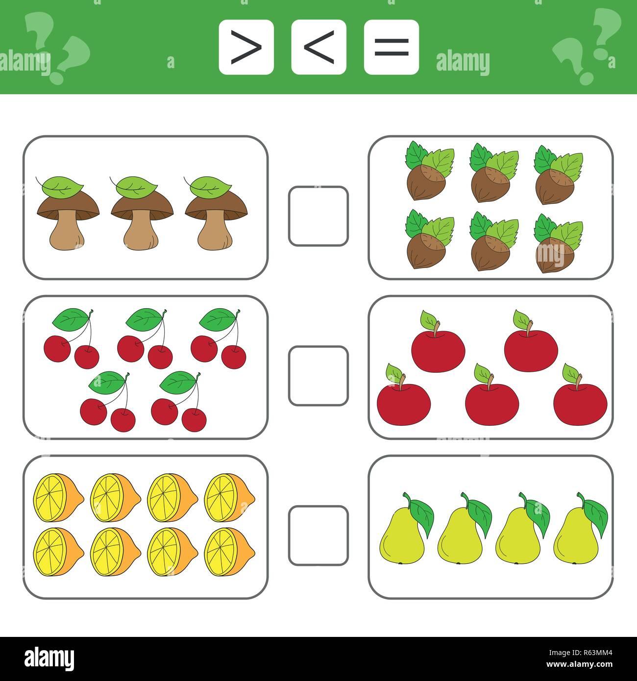 Mathematik Arbeitsblatt Fur Kinder Kinder Zahlen