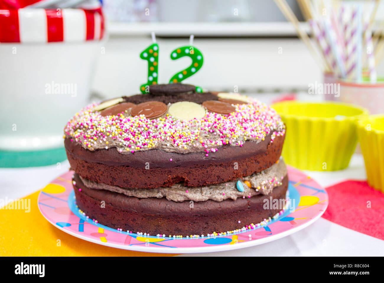 Kindergeburtstag Schokokuchen Kuchen Kindergeburtstag Elegant
