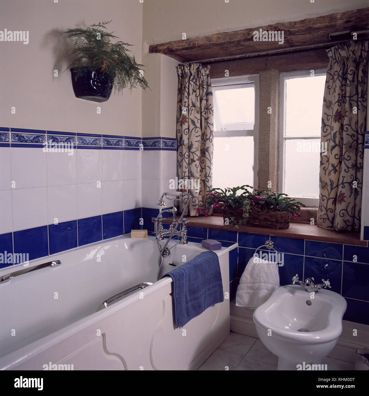 neben badewanne bidet im cottage