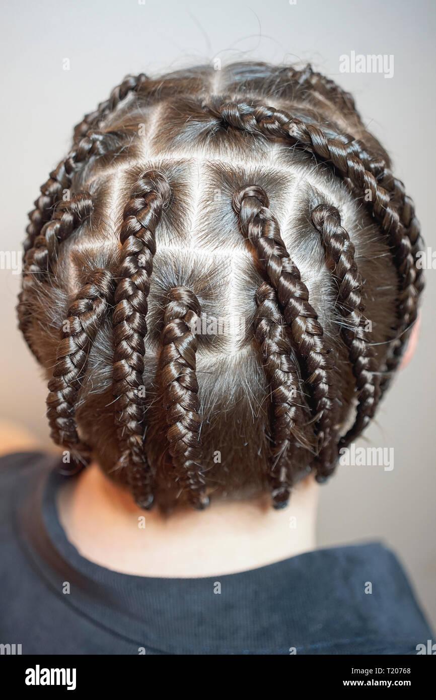 Frisur Irokese