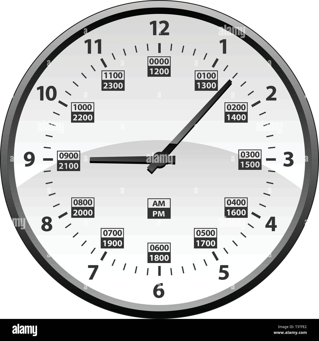 12 Stunden Uhr Stockfotos Amp 12 Stunden Uhr Bilder