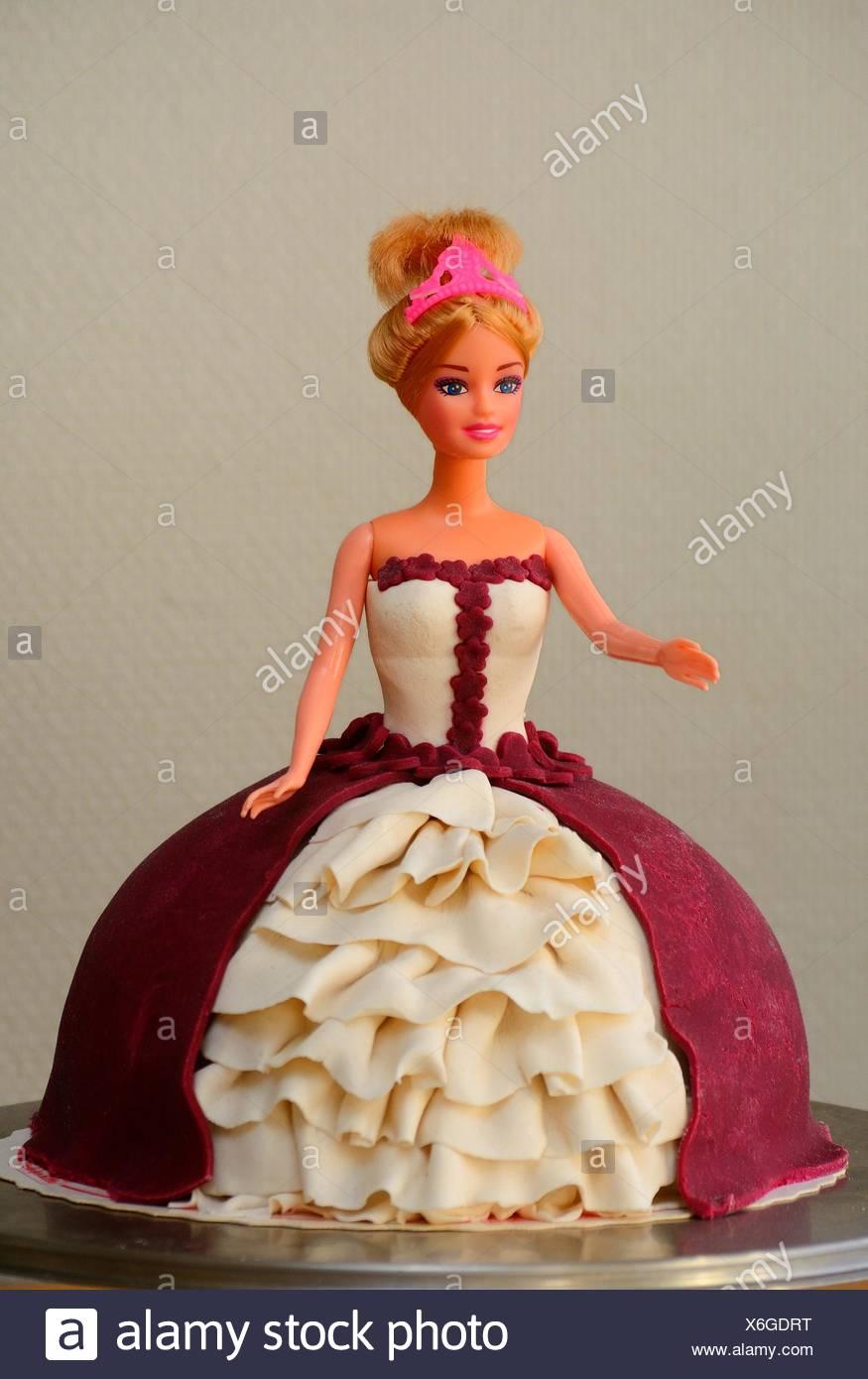Barbie Kuchen Barbie Kuchen Einfach