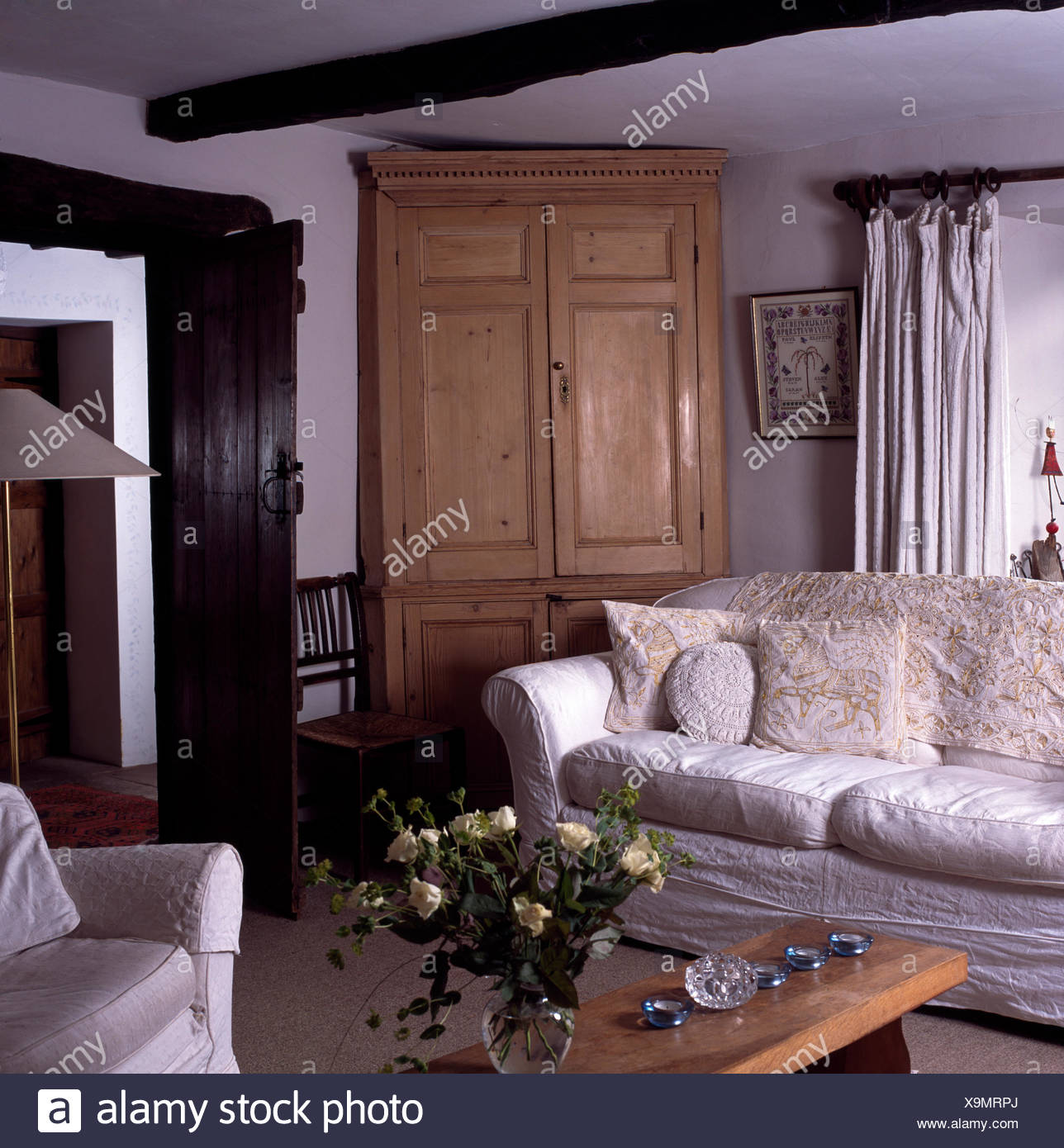 Couch Landhausstil Wohnzimmermobel