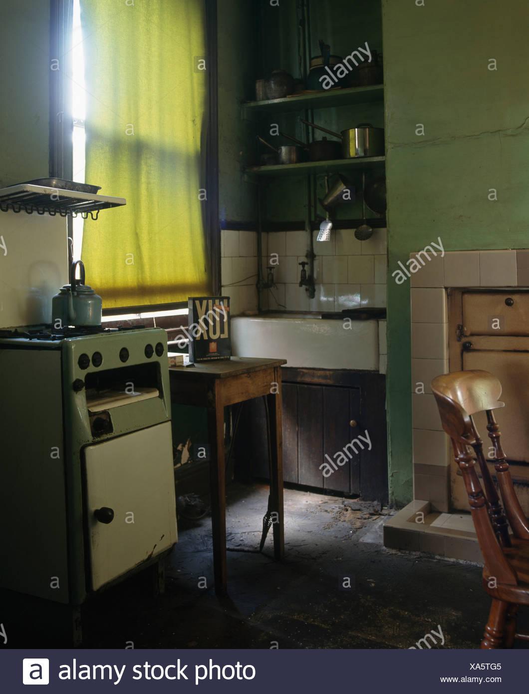 50er Jahre Küchenschrank Eckschrank Buffet Schrank Vitrine ...