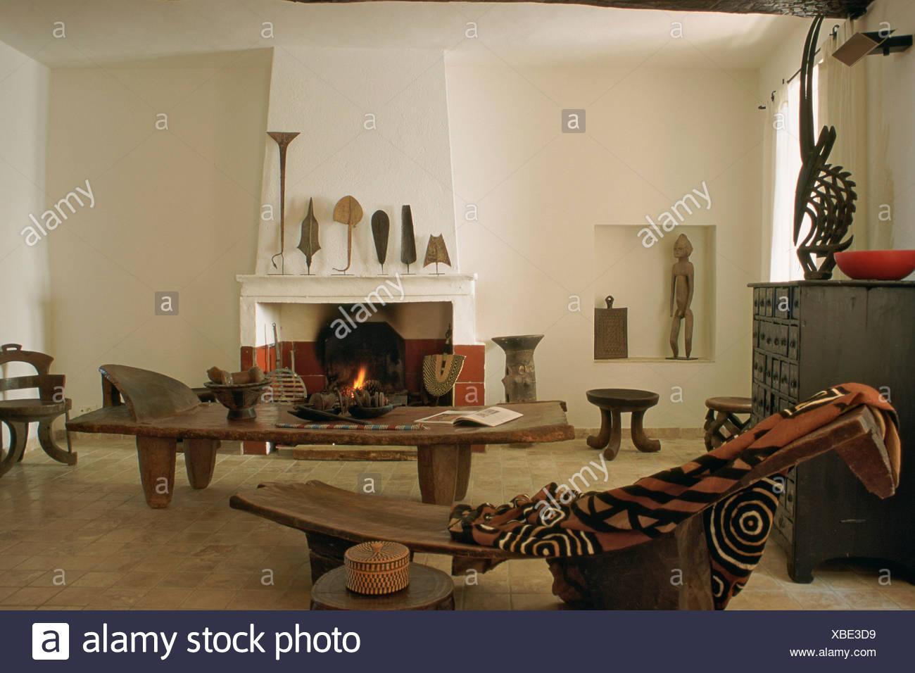 Afrikanischer Couchtisch Couchtisch Afrikanischer Stil Sonoma