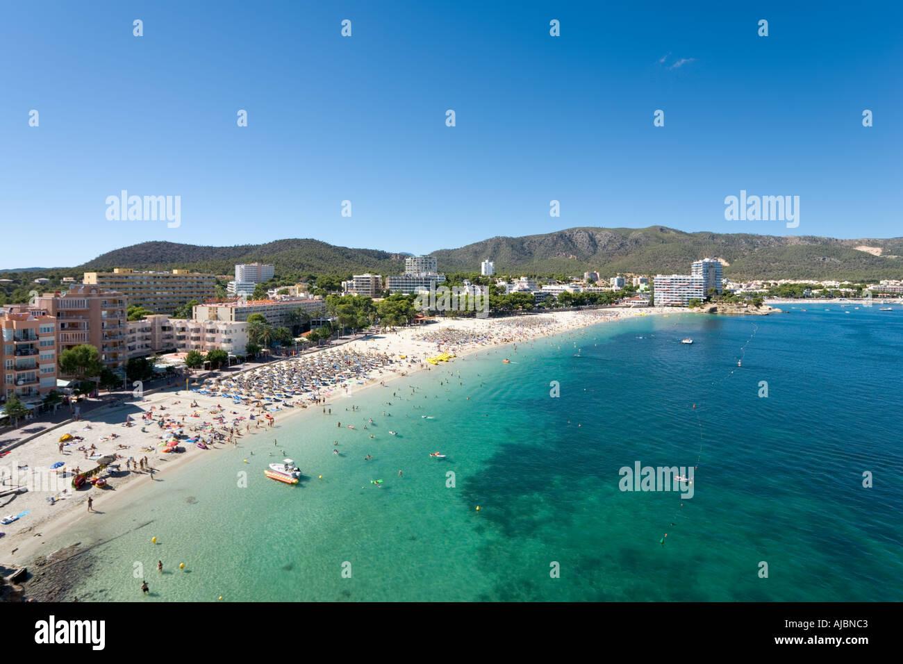 https www alamy es playa palma nova la bahia de palma mallorca islas baleares espana image4794818 html