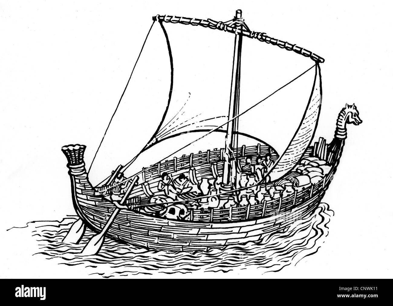 Transporte Transporte Mundo Antiguo Barco Mercante