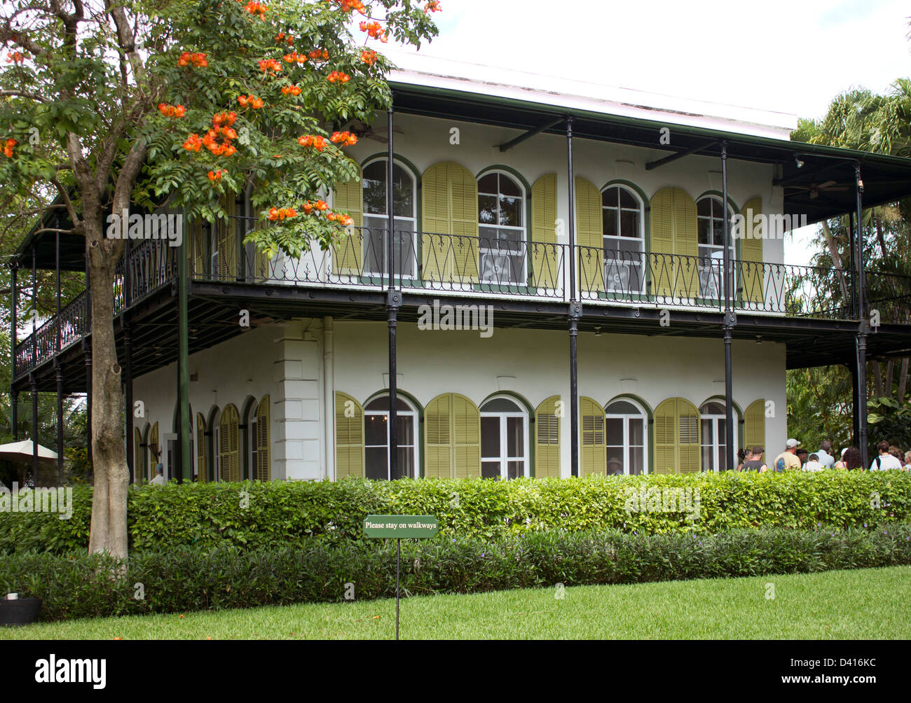 Casa de Ernest Hemingway en Key West Florida Foto