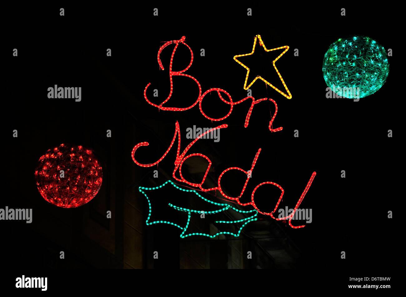 Bon Nadal Imgenes De Stock  Bon Nadal Fotos De Stock  Alamy