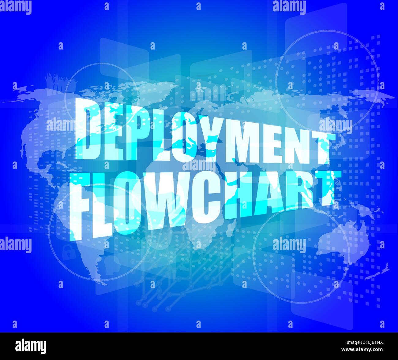 hight resolution of diagrama de despliegue de pantalla t ctil digital de negocios