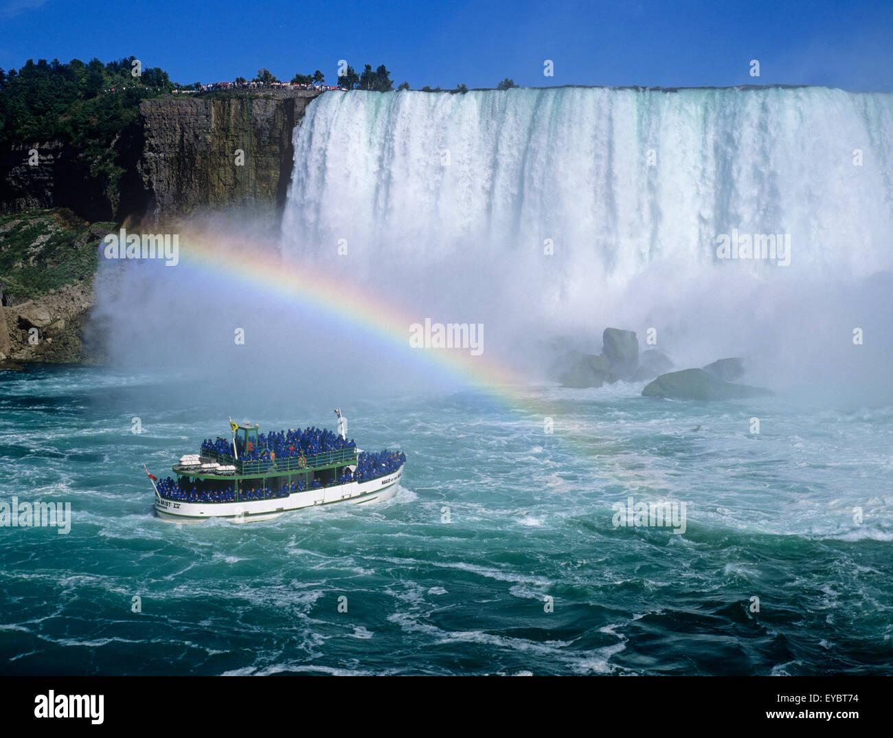 America Del Norte Canada Las Cataratas Del Niagara De Ontario Horseshoe Falls Maid Of The Mist
