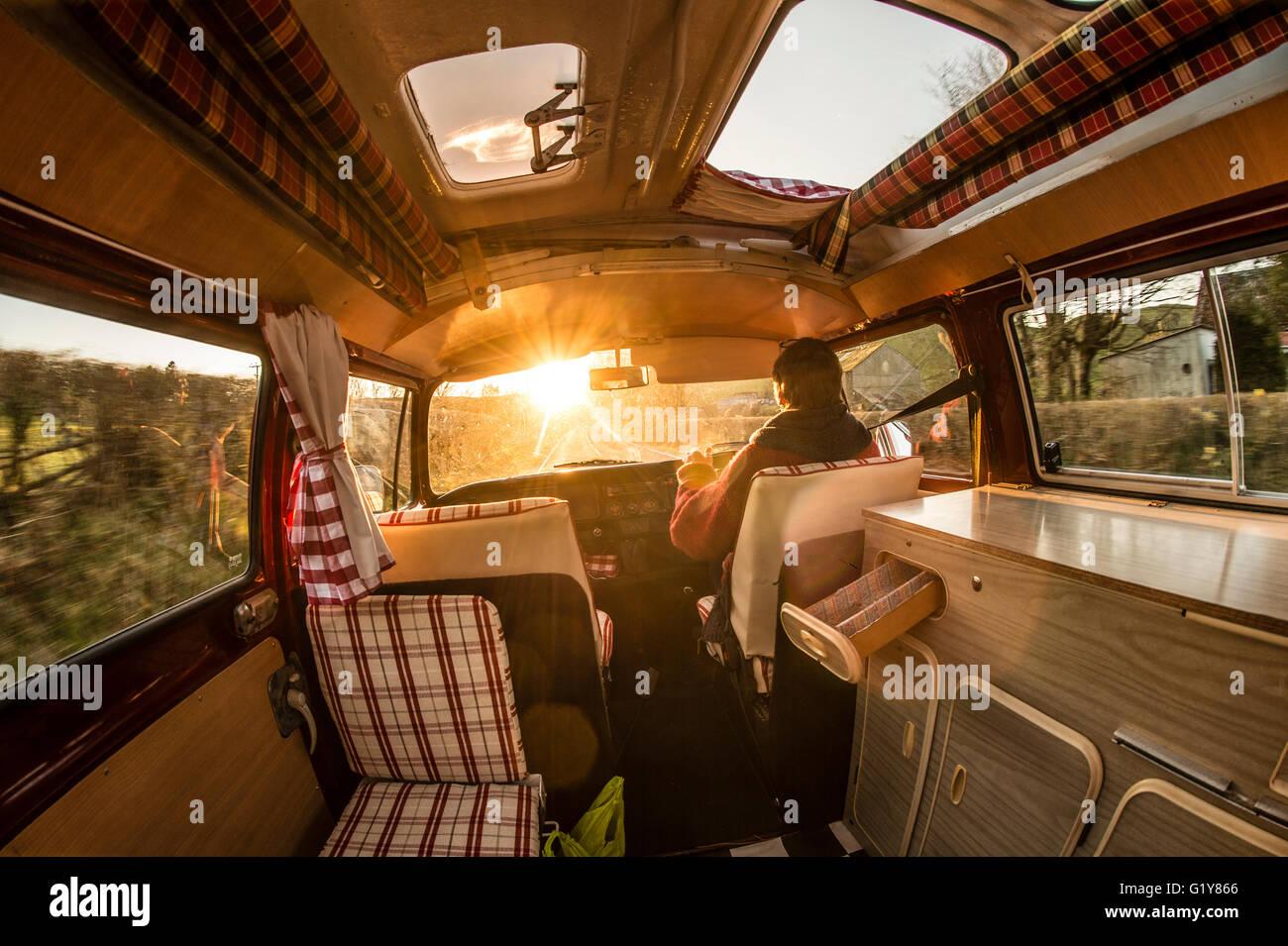 Interior Volkswagen Camper Van Vw Imgenes De Stock