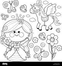 Princesas De Cuentos Para Colorear Dibujos Para